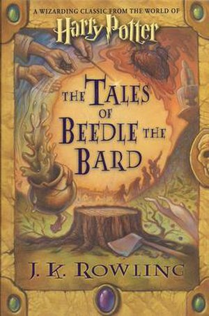 The Tales of Beedle the Bard - US cover of The Tales of Beedle the Bard.