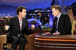 The Tonight Show with Conan O'Brien - Will Ferrell was O'Brien's first and last guest during the show's run