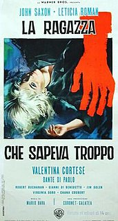 <i>The Girl Who Knew Too Much</i> (1963 film) 1963 film by Mario Bava