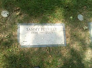 Sammy Petrillo - Petrillo's grave at the Actors' Fund section at the Kensico Cemetery in Valhalla, New York