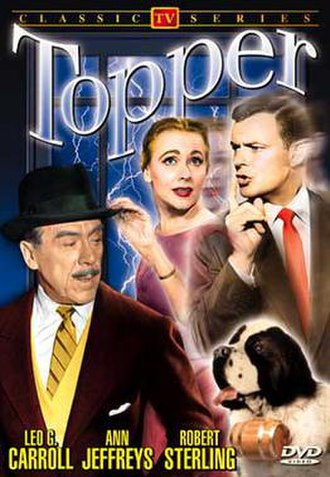 Topper (TV series) - Cover of Alpha Video's DVD of the Topper TV series