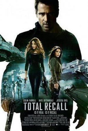 Total Recall (2012 film) - Theatrical release poster