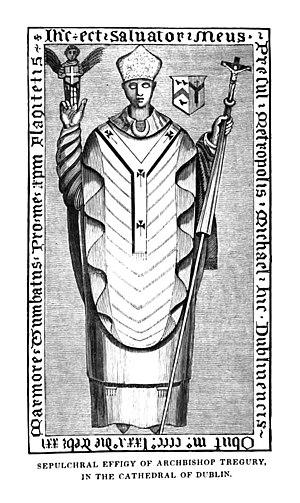 Michael Tregury - The tomb of Michael Tregury