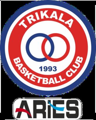Trikala Aries B.C. - Image: Trikala Aries BC logo