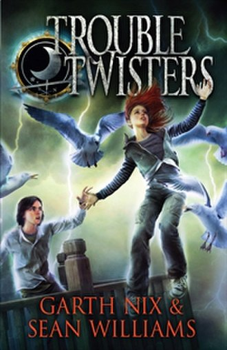 Troubletwisters series - First edition cover of first novel