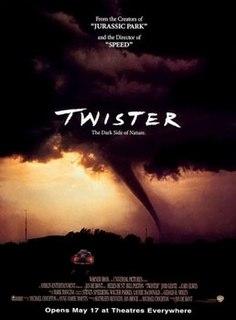 <i>Twister</i> (1996 film) 1996 American disaster-adventure film by Jan de Bont