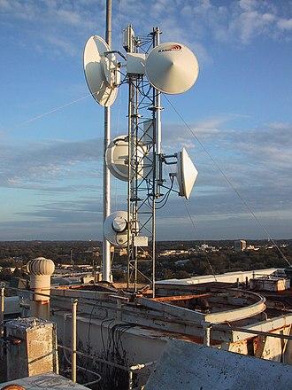 Wireless Internet service provider - Aspen Communication's wireless access point in Tyler, Texas