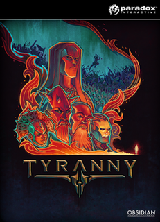 <i>Tyranny</i> (video game) 2016 video game