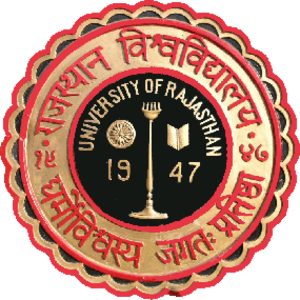 University of Rajasthan - Image: University of Rajasthan logo