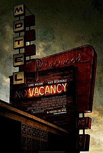 Film poster for Vacancy.