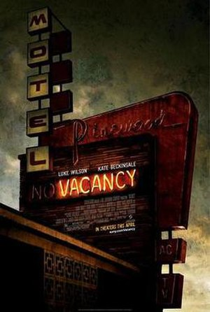 Vacancy (film) - Theatrical release poster