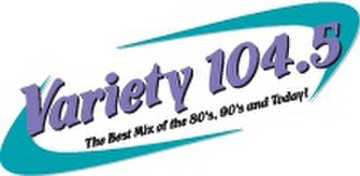 CFLG-FM - Image: Variety 104.5