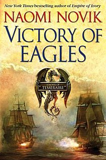 <i>Victory of Eagles</i> novel by Naomi Novik