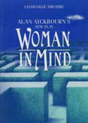 Woman in Mind - Programme cover for the 1986 West End production
