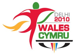 Wales at the 2010 Commonwealth Games - 2010 Commonwealth Games official logo.