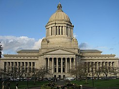 The Washington State Capitol in Olympia.