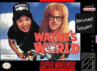 Wayne's World (video game) - Wayne's World (Super NES)