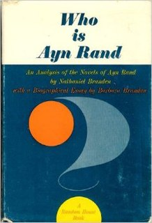 <i>Who Is Ayn Rand?</i> book by Nathaniel Branden