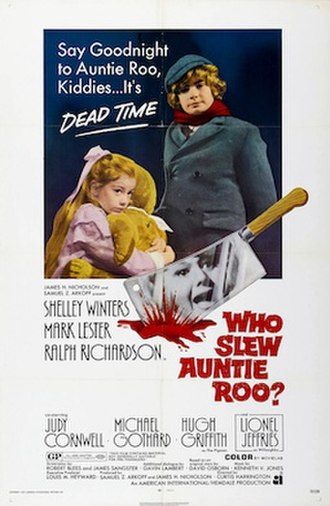 Whoever Slew Auntie Roo? - US theatrical release poster