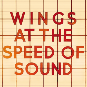 Wings at the Speed of Sound - Image: Wings at the Speed of Sound album cover