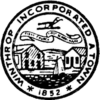 Official seal of Winthrop, Massachusetts
