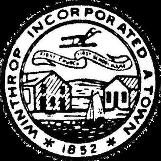 Official seal of Winthrop, Massachusetts