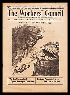Workers Council of the United States short-lived American socialist organization