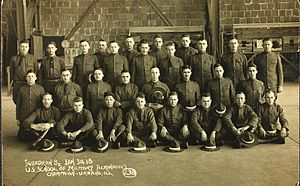 Aviation Cadet Training Program (USAAF) - University of Illinois at Urbana–Champaign aeronauts on 30 January 1918