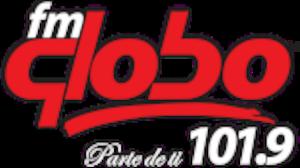 XHPF-FM - Image: XHPF fmglobo 101.9 logo