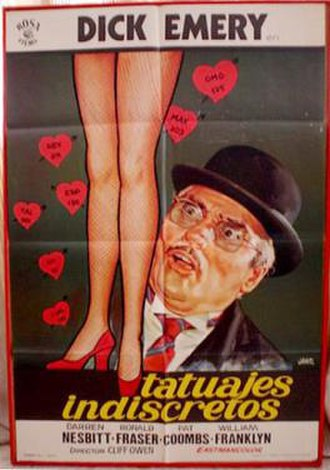 """Ooh… You Are Awful - Image: """"Ooh ... You Are Awful"""" Spanish release poster"""