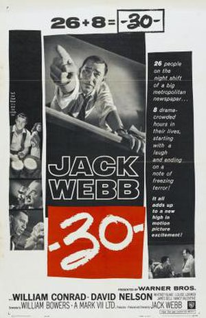 -30- (film) - Film Poster