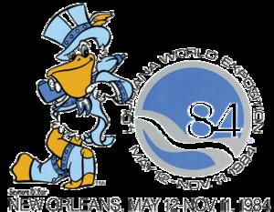 Seymore D. Fair - Image: 1984 Louisiana World Exposition Official Logo