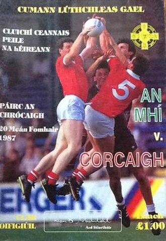 1987 All-Ireland Senior Football Championship Final - Image: 1987 All Ireland Senior Football Championship Final programme