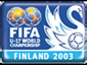 2003 FIFA U-17 World Championship - Image: 2003 FIFA U 17 World Championship