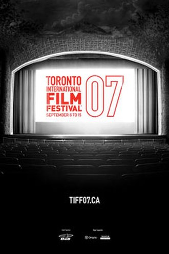 2007 Toronto International Film Festival - Festival poster