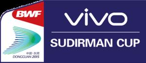 2015 Sudirman Cup - Image: 2015 Sudirman Cup logo