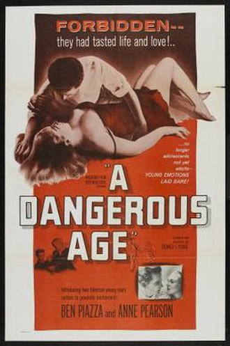 A Dangerous Age - United States Poster