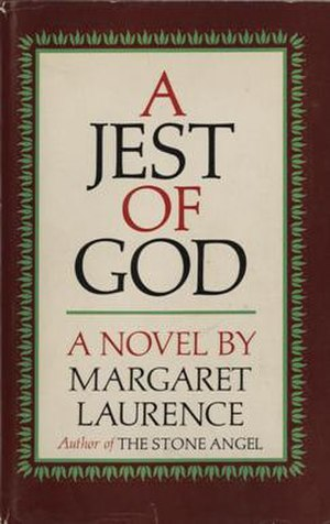 A Jest of God - First edition (publ. McClelland & Stewart)