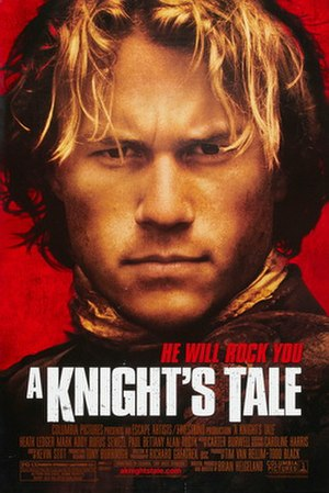 A Knight's Tale - Theatrical release poster