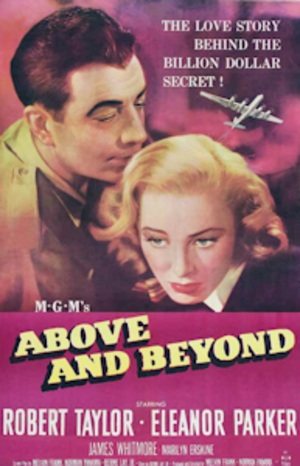 Above and Beyond (film) - Theatrical release poster