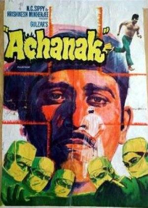Achanak (1973 film) - Achanak film poster