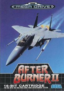 <i>After Burner II</i> 1990 video game