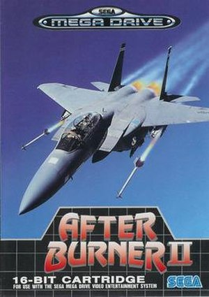 After Burner II - European boxart (note erroneous use of F-15)