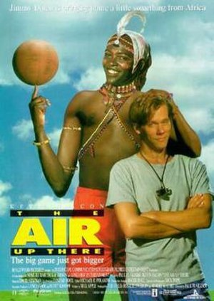 The Air Up There - Theatrical release poster