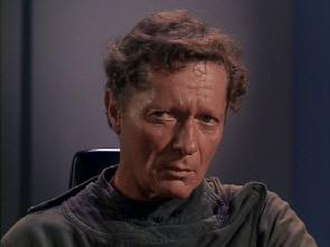"""Alfred Ryder - Alfred Ryder as Professor Robert Crater from the Star Trek debut aired episode, """"The Man Trap"""""""