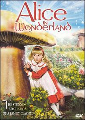 Alice in Wonderland (1985 film) - DVD cover