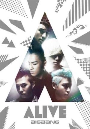 Alive (Big Bang album) - Image: Alive Japaneseregular