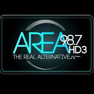 "WDZH - ""Area 9-8-7"" HD3 logo"