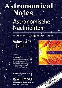 Astronomische Nachrichten #