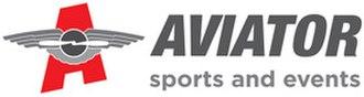 Aviator Sports and Events Center - Image: Aviator Sports & Events Center logo